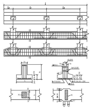 柱下钢筋混凝土条形基础的构造要求 -无标题文档图片