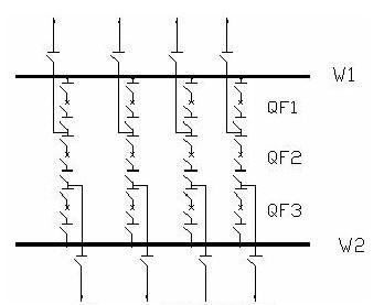 一台半断路器接线图