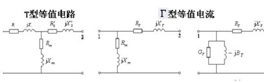 电网各元件的参数和等值电路
